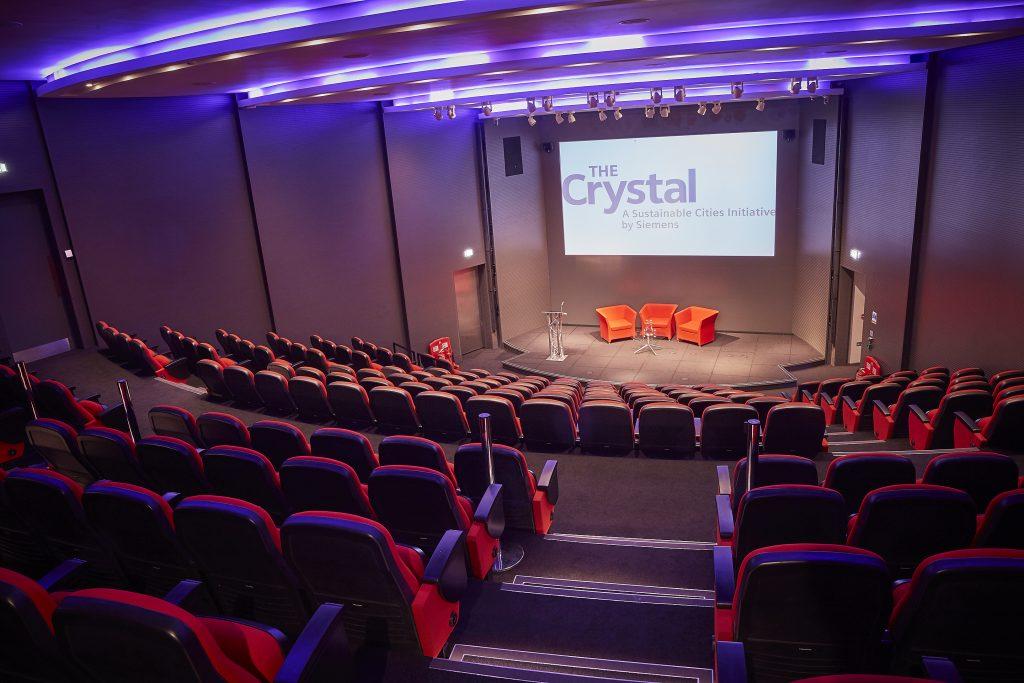 Auditorium at the venue