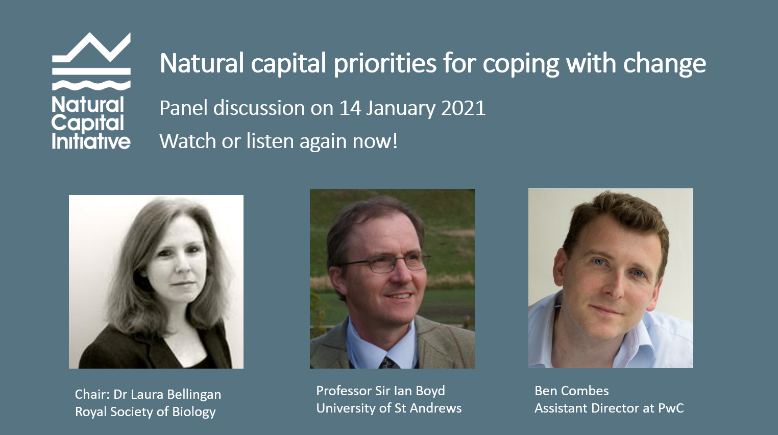 Watch or listen to our panel discussion by clicking here